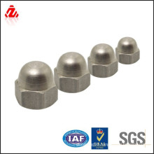carbon steel with zinc plated nut cover