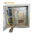 Distribuidor fixado na parede da caixa de distribuição 1X32 da fibra óptica
