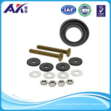 Stainless Steel or Brass Tank to Bowl Bolts Set with Gasket
