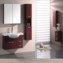 Vanité de salle de bain en mélamine avec bonne qualité (SW-PB183)