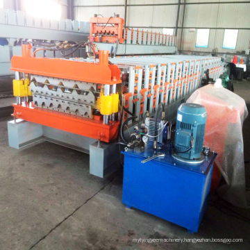Hky Double Layer Metal Roof Tile Roll Forming Machine