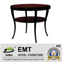 Table à café à pied courbée ronde design artistique 2016 (EMT-CT08)