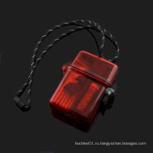 Открытый выживания карманный инструмент Водонепроницаемая коробка параккорд выживания комплект