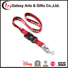 Custom Sublimation Transfer Printing Nylon USB Flash Drive Lanyard