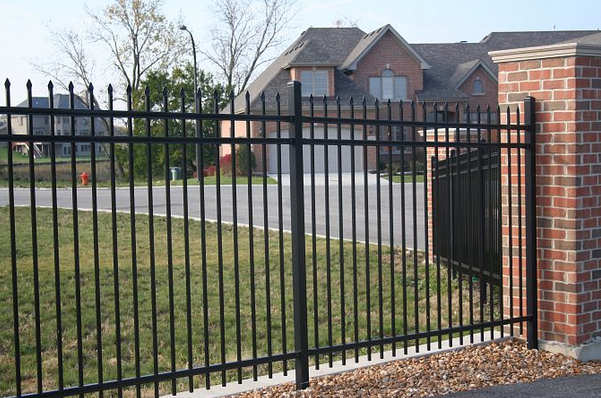 worught fence