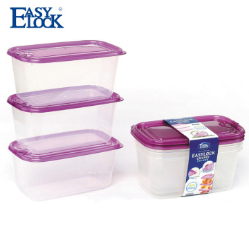 1000ml transparent japanese plastic food container with air holes