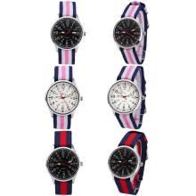 Yxl-471 пользовательских логотип швейцарских Dw нейлоновых мужчин кварцевых дам запястье нержавеющей стали смотреть кварцевые спортивные повседневные мужские часы