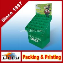 DVD VCD CD papel de cartón corrugado pantalla de la paleta (6212)