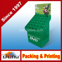 DVD VCD CD papel ondulado placa de exibição de paletes (6212)