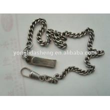 Fabricación de productos de metal llavero metálico cadena de metal a granel