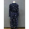 women's chiffon  long dress