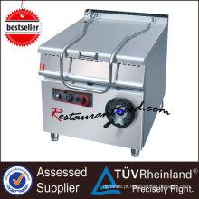 Panelas de ferrugem elétricas ou a gás de aço inoxidável K002