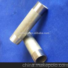 Nipple à tuyau noir DIN 2982