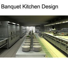 Shinelong Customized Project Banquet Kitchen Design