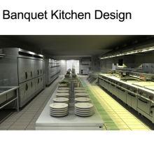 Shinelong Подгонянный Проект Банкетный Кухня Дизайн