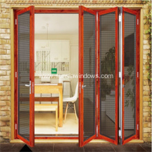 Aluminum Folding Security Screen Door