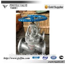 Válvula de globo de acero inoxidable J41Y / H -16C fabricante en China