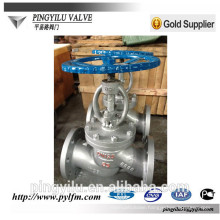 stainless steel globe valve J41Y/H -16C manufacturer in china