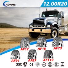 Todos os pneus de caminhão radial de aço (12.00R20) com ECE DOT