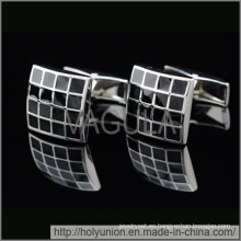 VAGULA pun enlaces gemelos de esmalte diseño (Hlk31721)