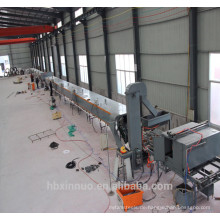 xn Stahl Stein beschichtete Dachplatte Maschine mit Stanzen