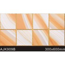 Producteur de carreaux muraux à impression jet d'encre 3D (AJK909B)