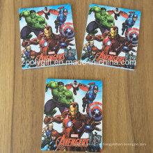 Kundenspezifischer Marvel gedruckter Anmerkungs-Auflage-fördernder Geschenk-Notizblock