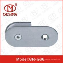Braçadeira de vidro do aço inoxidável da fixação usada no quarto de chuveiro (CR-G36)