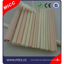 alta al2o3 pureza ker710 2 canales de cerámica aislador de la bobina fabricante