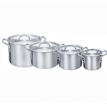 Aluminum seafood stock pot cookware set