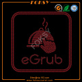 Custom eGrub logo personalised transfers