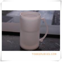 Taza escarchada de la pared doble Taza de cerveza congelada del hielo para los regalos promocionales (HA09074)