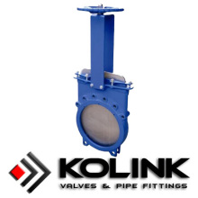 Wafer typ kniv Gate Valve