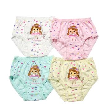 Las muchachas encantadoras resumen las bragas del bebé de la ropa interior de la correa de los niños de la ropa interior de los cabritos