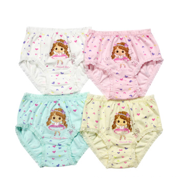 Lovely Girls Briefs Kids Underwear Children Thong Underwear Baby Panties