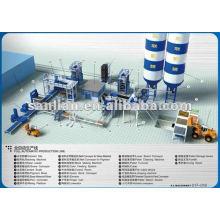 Línea de producción automática de ladrillos completos