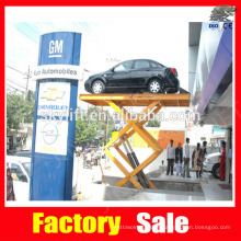 hydraulic scissor platform for car parking