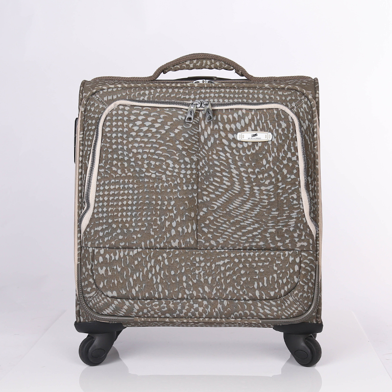 trolley PU leather suitcase set