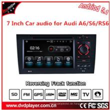 Auto Navigtion USB oder Android 5.1 Telefonanschlüsse für Audi A6 S6 DVD