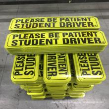 Kundenspezifischer reflektierender Magnetautoaufkleber im Freien