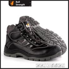945 modelo PU/PU Outsole série de aço do dedo do pé e calçado de segurança entressola (SN5487)