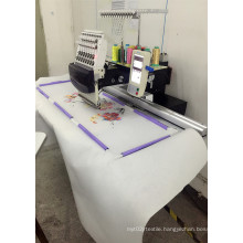 Single Head Computerized Embroidery Machine Embroidery Area 360*1200mm