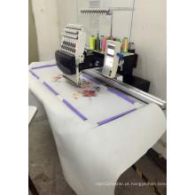 Única cabeça automatizou a área 360 * 1200mm do bordado de máquina do bordado