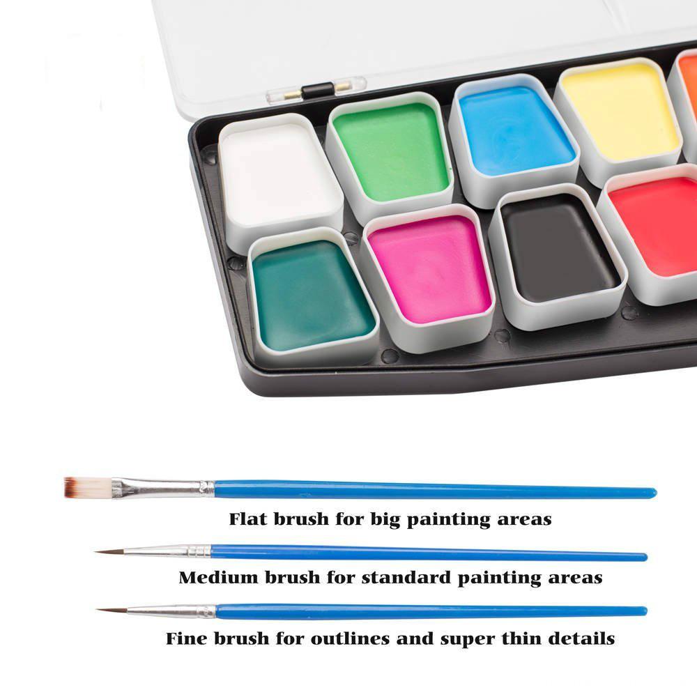 16colors face paint
