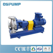 Horizontal chemical water pump