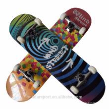 9 ply Chinese Ahorn komplette Skateboards zum Verkauf mit niedrigem Preis