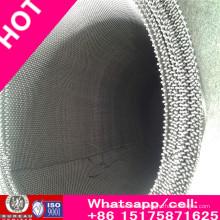 Malla de alambre de acero inoxidable 316L / Malla Wiremesh / Mosquito Wiremesh para Windows