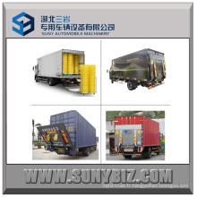 1t 1.5t 2t Petite élévation télescopique hydraulique à hayon pour levage de camion