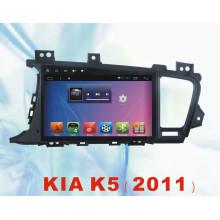 Android System Car DVD Player para KIA K5 2011 con GPS de navegación