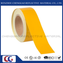 Pure Yellow Pet Advertisement Grade Reflective Marking Tape (C1300-OY)